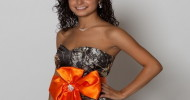camo and orange prom dresses