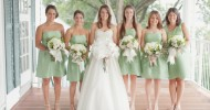 mint green bridesmaid dresses 2013