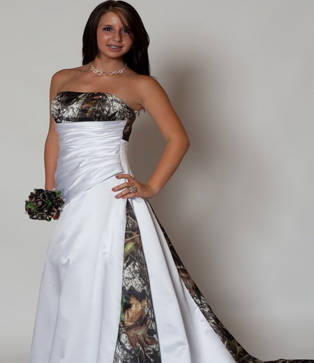 Mossy oak camo wedding dresses fashion trends styles for for Red camo wedding dresses