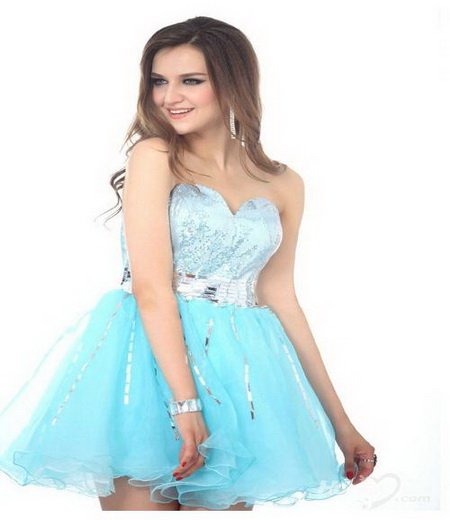 short blue prom dresses 2013