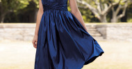 short navy blue bridesmaid dresses 2013