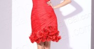 short red bridesmaid dresses 2013