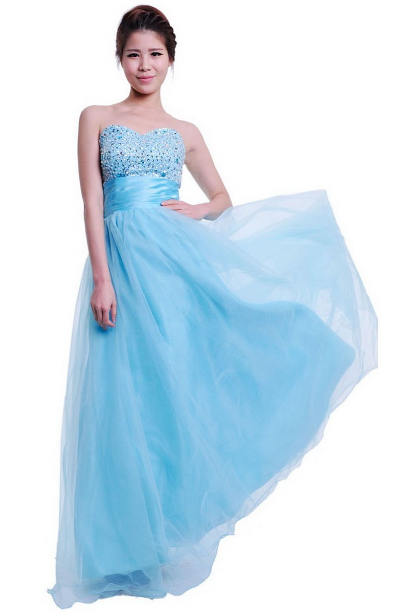 Blue Princess Prom Dresses Fashion Trends Styles For 2014