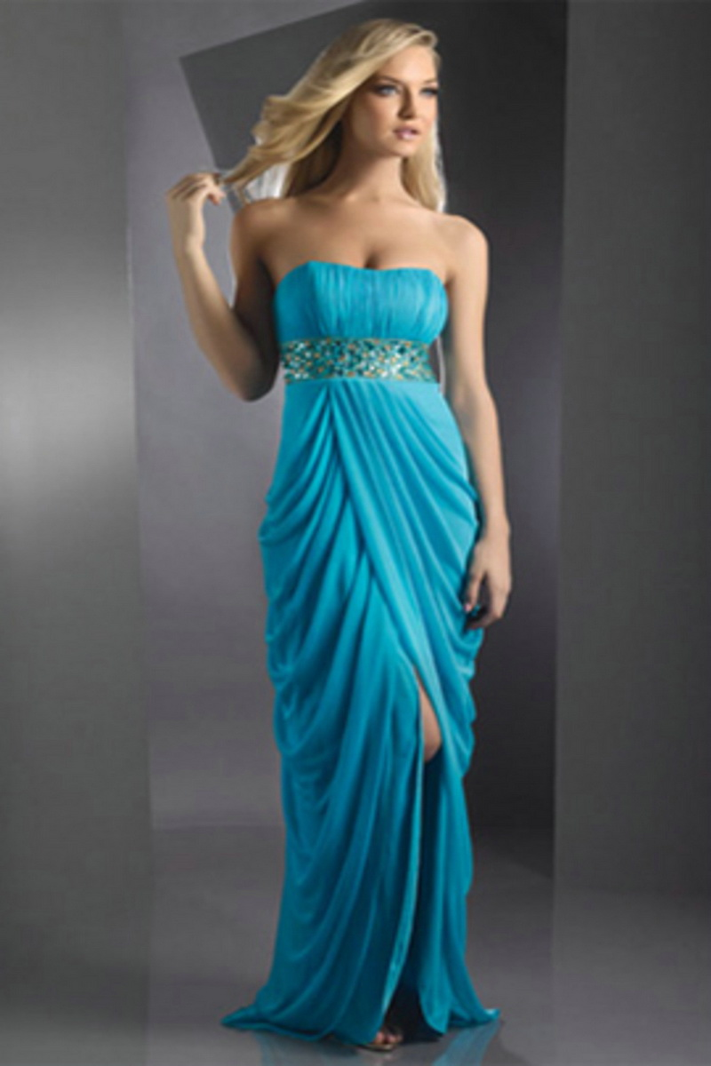 long strapless prom dresses - Fashion Trends Styles for 2014