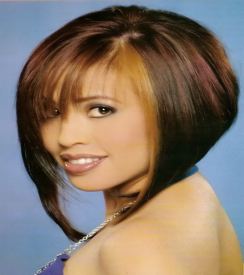 medium inverted bob haircuts