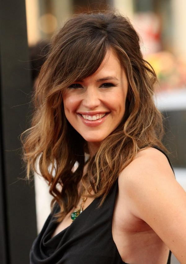 Medium Layered Haircuts With Side Bangs Fashion Trends