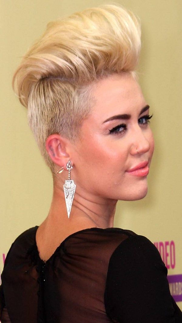 miley cyrus haircut 2013 short