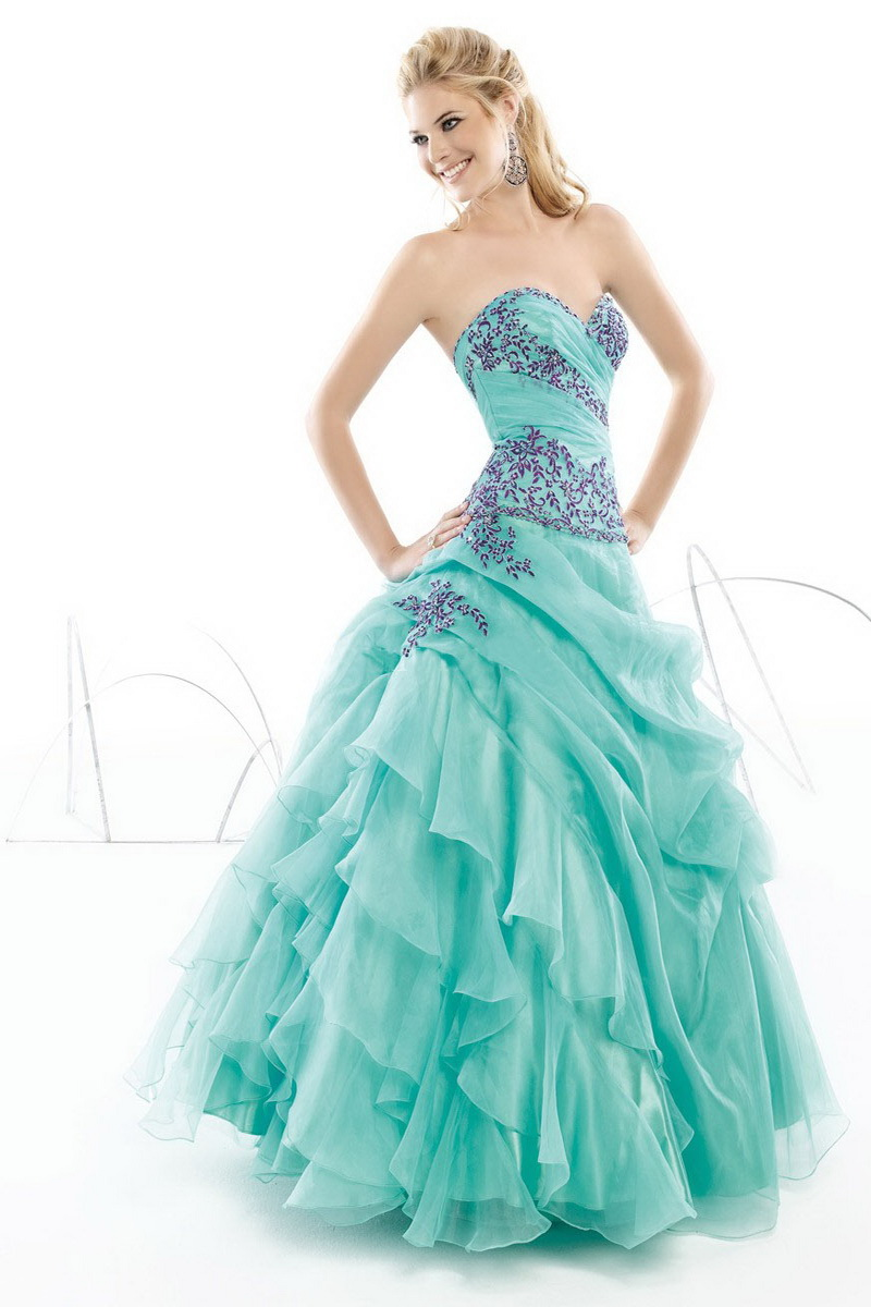 Pretty Blue Prom Dresses Fashion Trends Styles For 2014