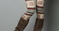 winter leggings fashion