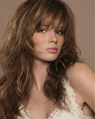 long shaggy layered haircut