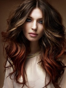dark brown hair images