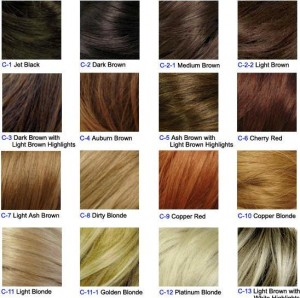 hair dye colors