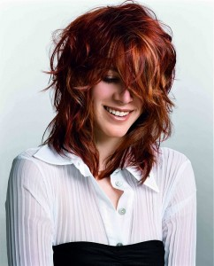 red and blonde hair ideas
