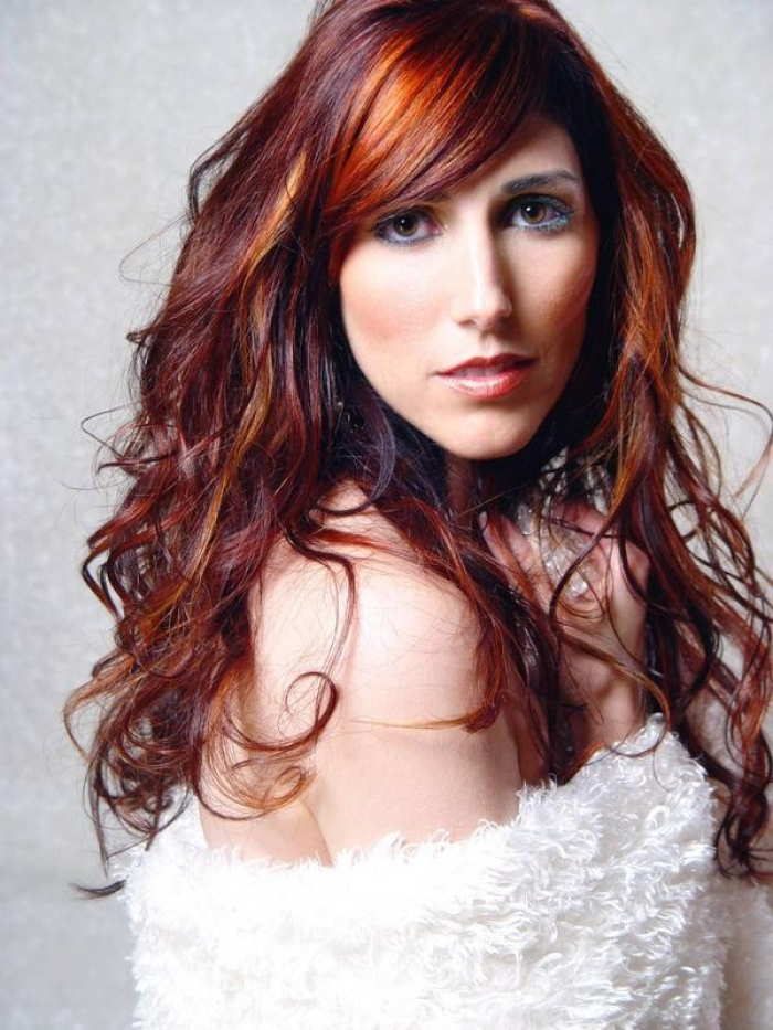 Dark Brown Red Hair Fashion Trends Styles For 2020