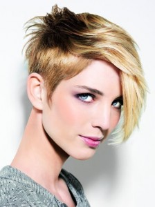 short hair trends women