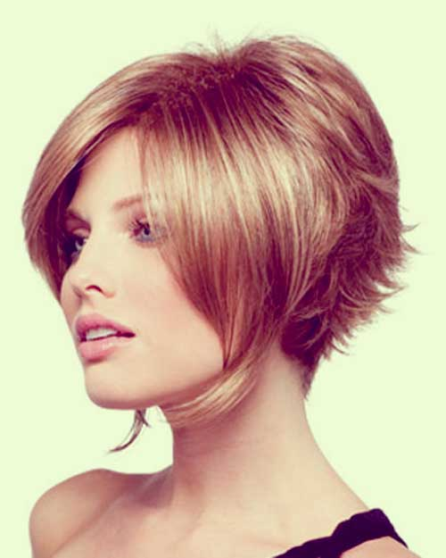 short tapered bob hairstyles