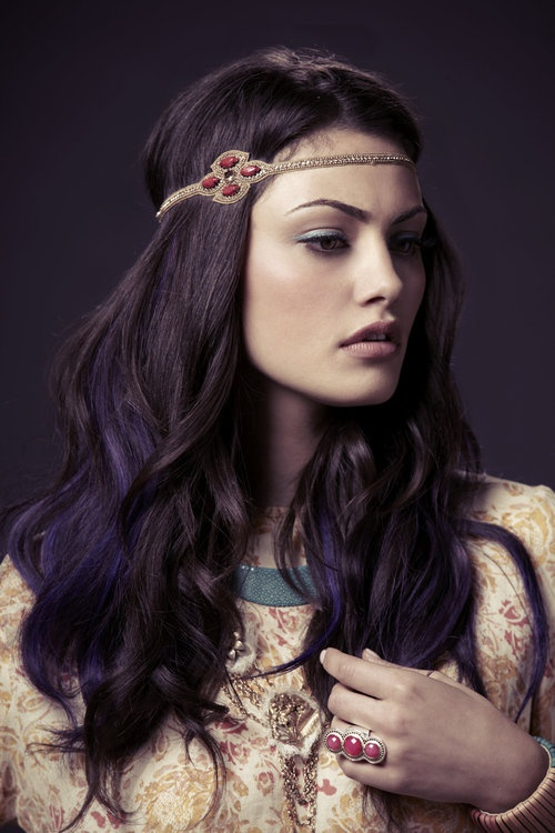 Purple And Dark Brown Hair Fashion Trends Styles For 2014